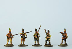 OT08 Tufeckci Musketeers Loading - Warfare Miniatures USA