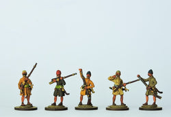 OT10 Sekban Musketeers Loading - Warfare Miniatures USA
