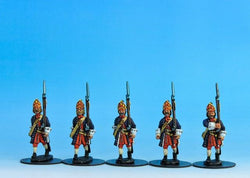 PN02 Prussian Grenadiers Marching - Warfare Miniatures USA