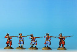 PN04 Prussian Musketeers Firing - Warfare Miniatures USA