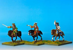 R100 GNW Russian Commanders - Warfare Miniatures USA