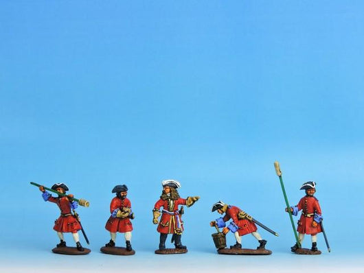 RA1 GNW Russian Artillery Crew Loading - Warfare Miniatures USA