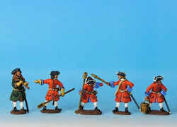RA3 GNW Russian Artillery Crew Firing - Warfare Miniatures USA