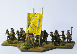RB2 Russian Battalion All Firing with Pikes - Warfare Miniatures USA
