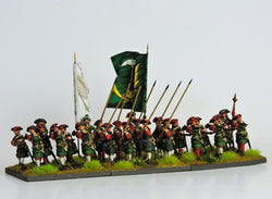 RB4 Russian Battalion Defending - Warfare Miniatures USA