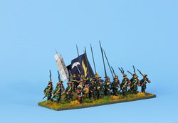 RB5 Russian Battalion Marching - Warfare Miniatures USA