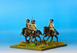 RC01 Russian Dragoons Variant 1 - Warfare Miniatures USA