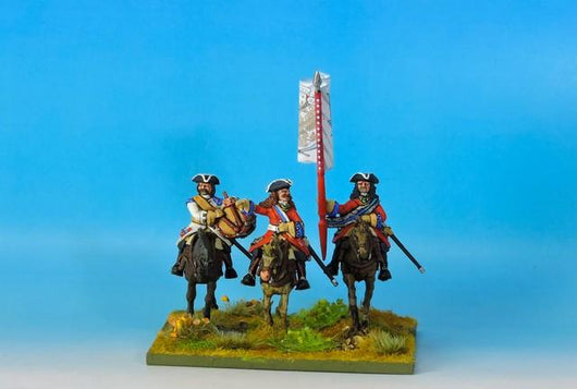 RC05 Russian Mounted Command - Warfare Miniatures USA