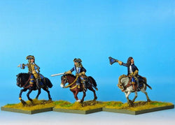 S100 GNW Swedish Commanders - Warfare Miniatures USA