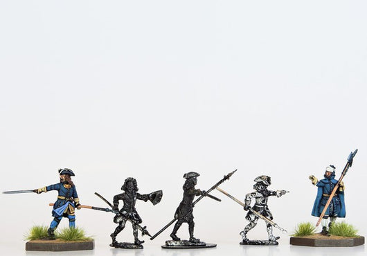 S21 Swedish Supplementary Command - Warfare Miniatures USA