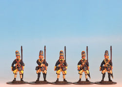 S22 Swedish Grenadiers at the Ready - Warfare Miniatures USA