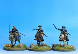 SC02 Swedish Cavalry Troopers Charging B - Warfare Miniatures USA