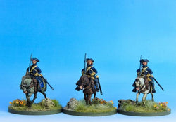 SC03 Swedish Cavalry Troopers at the Ready A - Warfare Miniatures USA