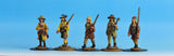 V02 Civilians with Matchlocks in Waistcoats - Warfare Miniatures USA