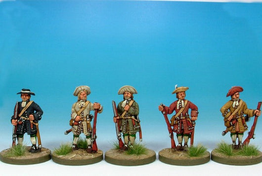 WLOA02 Musketeers at Ease - Warfare Miniatures USA
