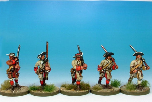 WLOA03 Musketeers Marching - Warfare Miniatures USA