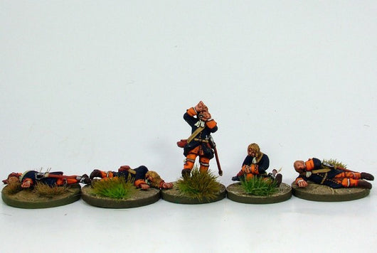 WLOA14 Casualties - Warfare Miniatures USA
