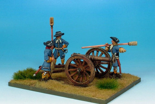 WLOA15 Siege Equipment - Galloper Gun and Crew - Warfare Miniatures USA