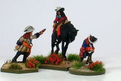 WLOA20 Staff Officer Group - Warfare Miniatures USA