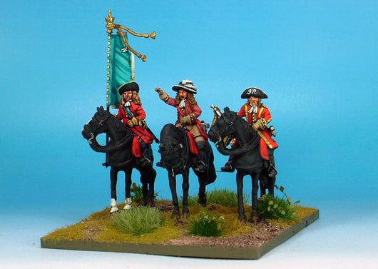 WLOA32 Cavalry Command on Standing Horses