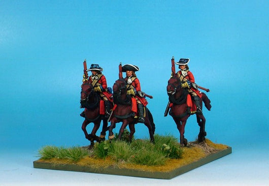 WLOA41b Cuirassiers in Hats, Cuirass Under Coats on Galloping Horses
