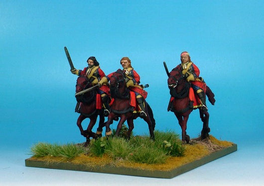 WLOA49b Cuirassiers, Bearheaded with Front Plate Only on Galloping Horses