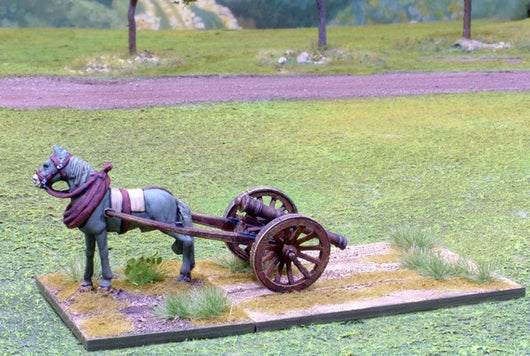 WLOA906 Horse with Limber and Galloper Gun