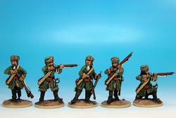 WLOA90 Dismounted Dragoons in Fur Hat - Warfare Miniatures USA