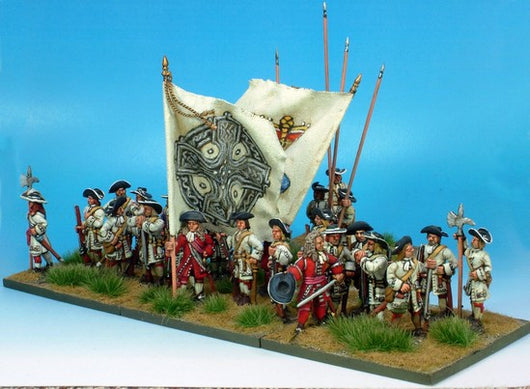 B007 At Ease with Pikes - Warfare Miniatures USA