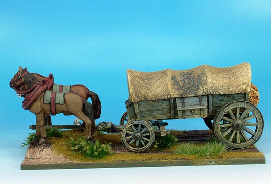 WLOA941 Covered Wagon Variant #1 - Warfare Miniatures USA