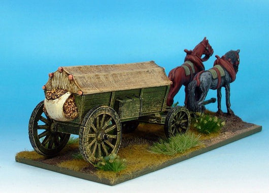 WLOA946 Covered Wagon, Reinforced, Variant #1 - Warfare Miniatures USA