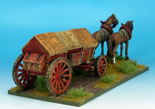 WLOA944 Covered Wagon, Ridge, Variant #2 - Warfare Miniatures USA