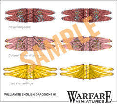 FC109 Williamite English Dragoons - Warfare Miniatures USA