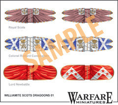 FC110 Williamite Scots Dragoons - Warfare Miniatures USA