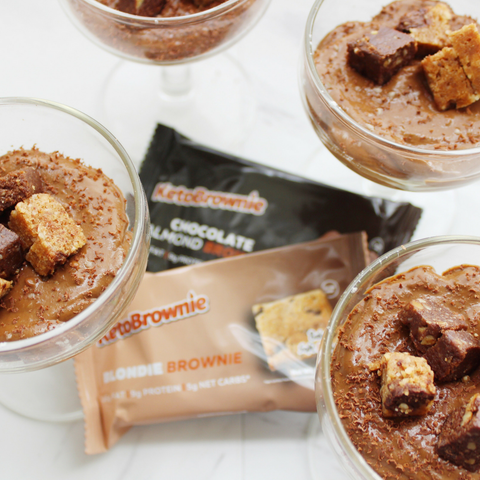 Keto Brownie Chocolate Mousse Recipe