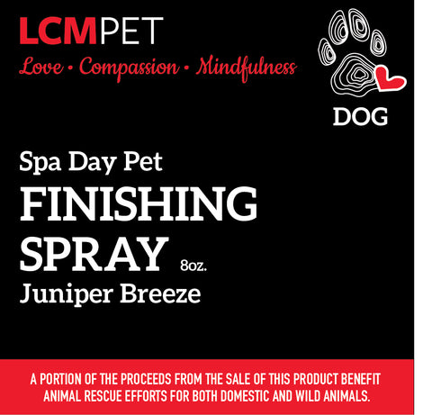Spa Day Juniper Breeze Finishing Spray
