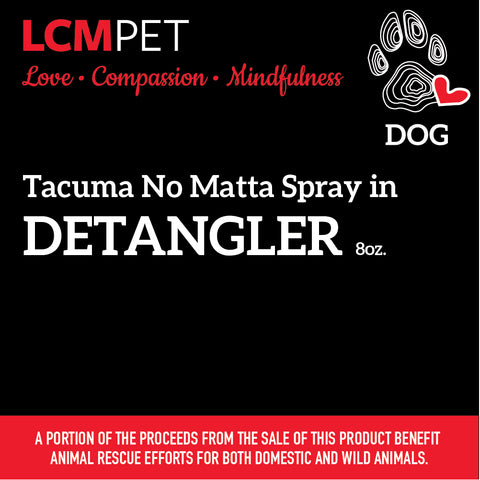 Tacuma No Matta Spray in Detangler