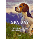 Spa Day Mountain Breeze Finishing Spray 8oz
