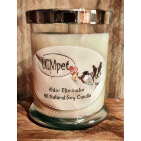 All Natural Odor Eliminating Soy Candle