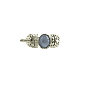 Designer Inspired Open Blue Moonstone ring