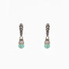 Designer Inspired Drop Earrings in Turquoise