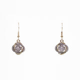 Love Knot Designer Inspired Pave Earrings