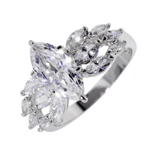 Classic 12 Marquise Cut Ring