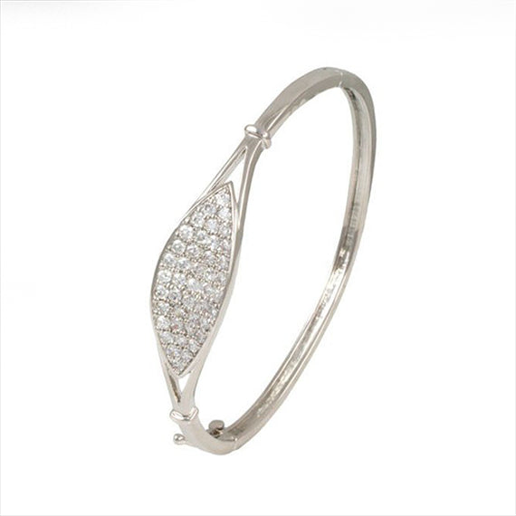 Oval cz bangle