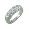 Pave Silver Band