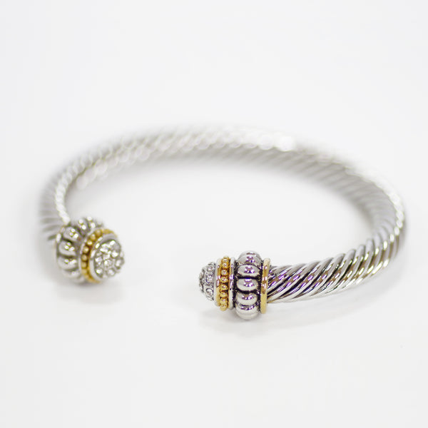Pave Designer Inspired Bangle
