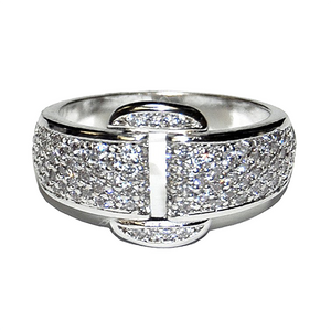 Pave Belt ring