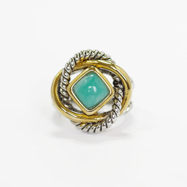 Love Knot Ring in Turquoise