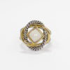 Love Knot Ring in Mother of Pearl