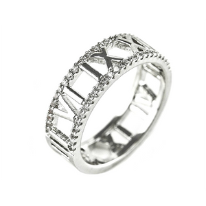 Beautiful Roman Numeral Designer Inspired Ring